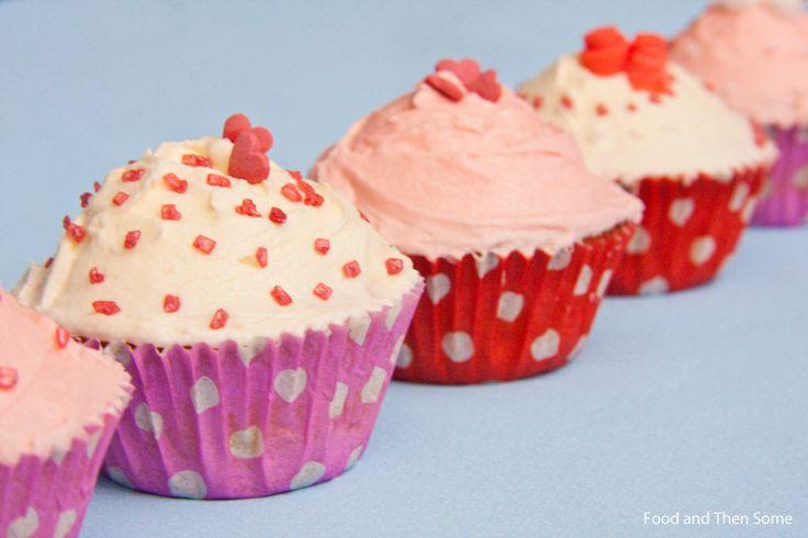 #Ystävänpäivän #kuppikakut / #Valentines #Cupcakes