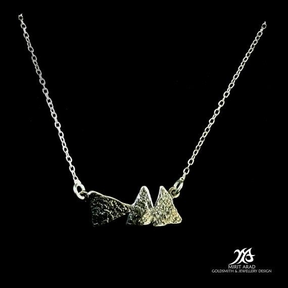 Depeche Mode Delta Machine sterling silver by LittleTreasuresByMir