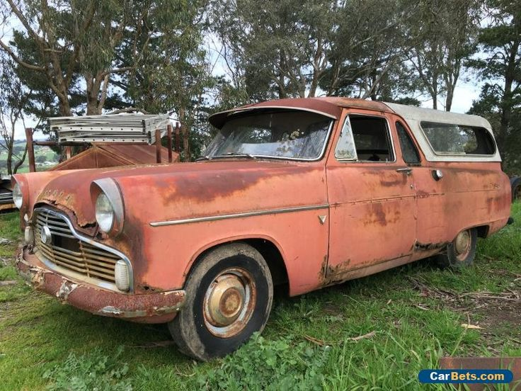Ford Zepher 1956 Ute With Lowline Canopy Forsale Australia
