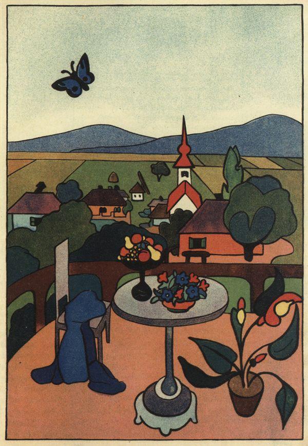 Anna Lesznai, Die Reise des Kleinen Schmetterlings..., 1912