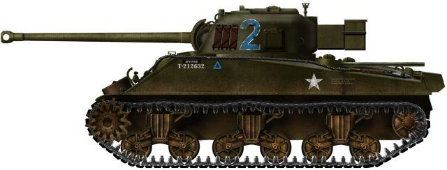 The famous British tank hunter was a happy marriage between ROF's 17 pounder and the American Sherman. It rapidly became the most feared Allied tank.