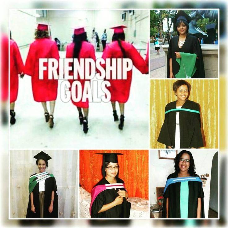 Surround yourself with phenomenal women... #Women #Friendshipgoals #Squadgoals #friends #Graduation