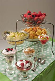 You've had salad bars, potato bars and taco bars. So why not a trifle or parfait bar?   It's a make-ahead dessert solution for an Easter feast,