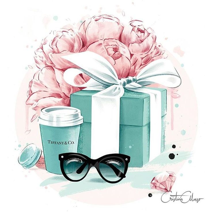 Did someone say Breakfast at Tiffany's?  Free your inner #HollyGolightly and get my last beautiful Art Print (available in A3+ size for limited time in my shop!).♥ This way, Audrey's lovers: www.shop.cristinalonso.com  #cristinaalonso #illustration...