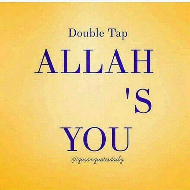 Allah Love You
