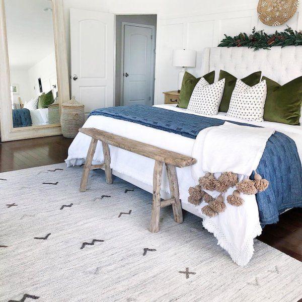 Relaxing Master Bedroom Ideas Boho