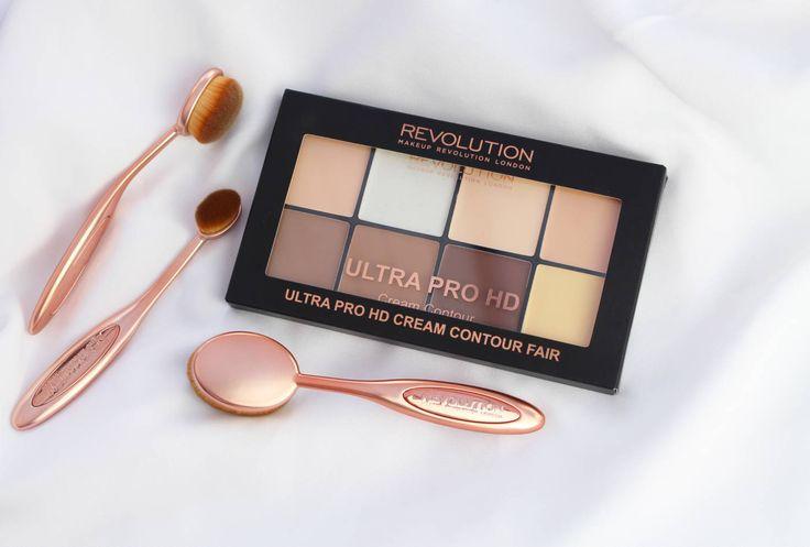 Makeup Revolution HD pro cream contour set review with Makeup Revolution HD pro cream contour set