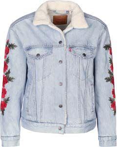 Levi's ® EX-BF Sherpa Trucker W veste en jean roses package