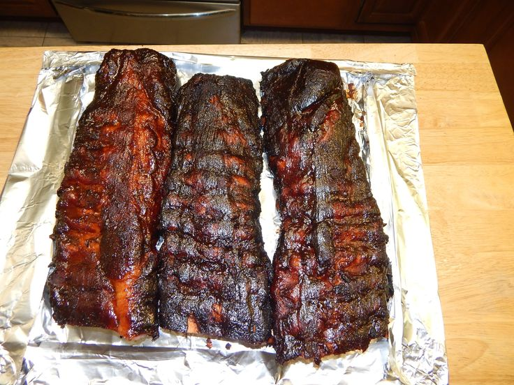 Bbq Baby Back Ribs Recipe 3 2 1 Ribs On The Offset