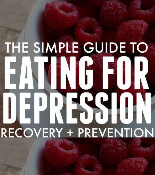Depression Recovery & Prevention Possibilities By Eating – Medi Idea