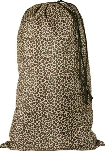 Personalize this laundry Bag - Leopard #college #BackToSchool