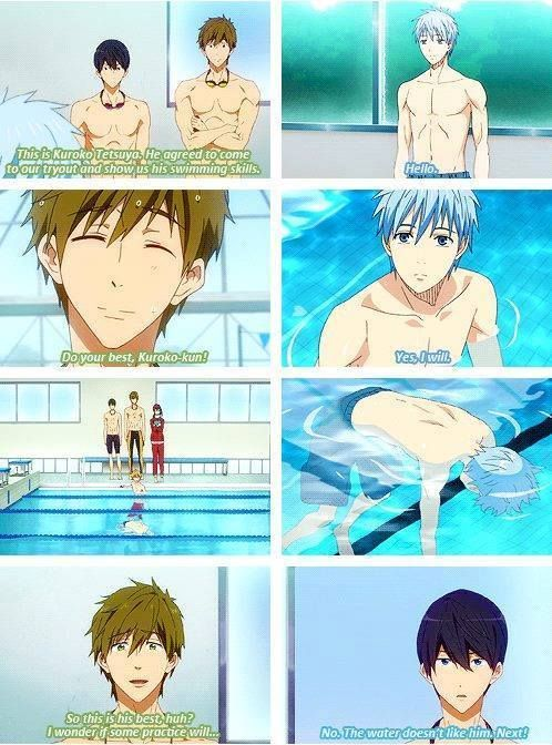 Free!-Iwatobi Swim Club! Funny~! [ does anyone know if this is from an episode]