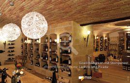 Ladenbau mit Gewölbedecke - MSD-Steinpaneel Picada - 00106