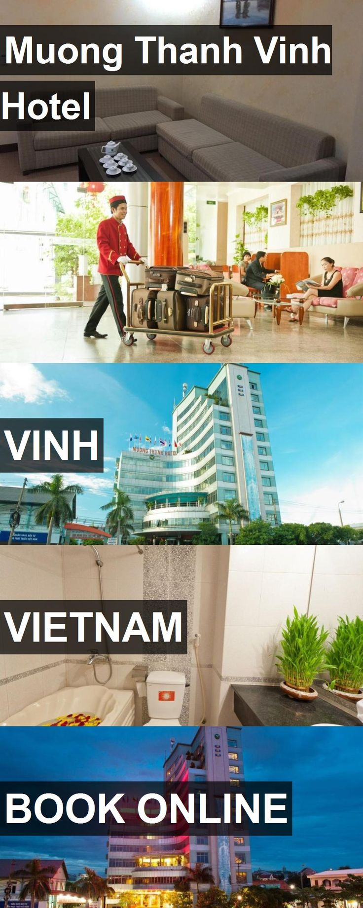 Muong Thanh Vinh Hotel in Vinh, Vietnam. For more information, photos, reviews and best prices please follow the link. #Vietnam #Vinh #travel #vacation #hotel