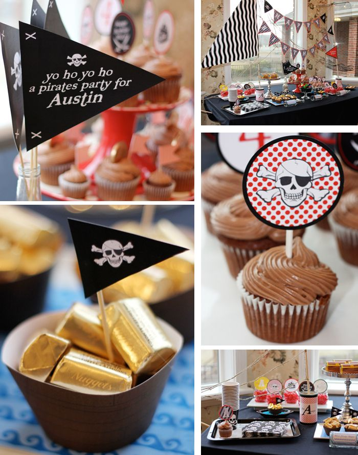 gold nuggets loot {pirate party}