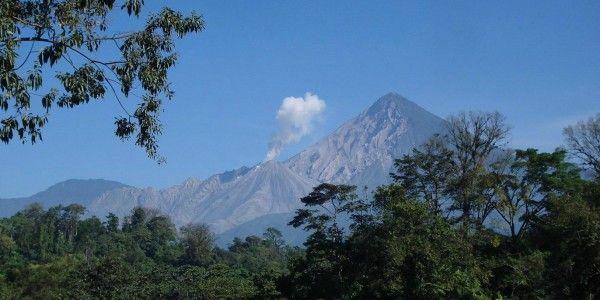 Vue sur le volcan de Santa Maria - © Fernando Reyes Palencia