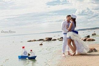 Фотосессия love story в морском стиле   Decorsando.ru