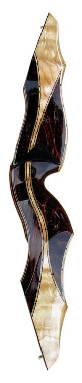 beautiful handcrafted traditional recurve bow Blacktail Snakebit
