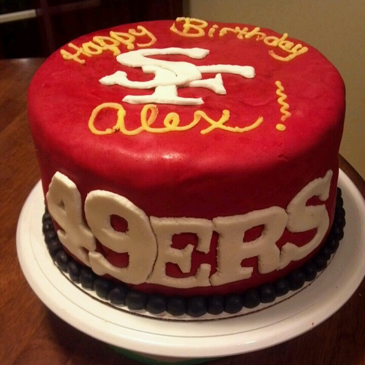 1000+ Ideas About 49ers Cake On Pinterest
