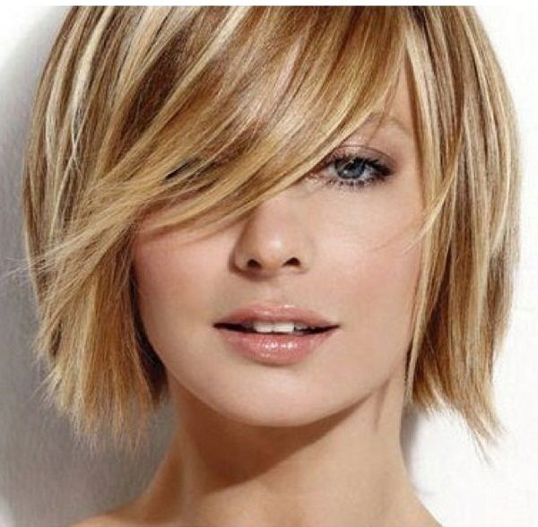 Hair. Minus the hair in her face.