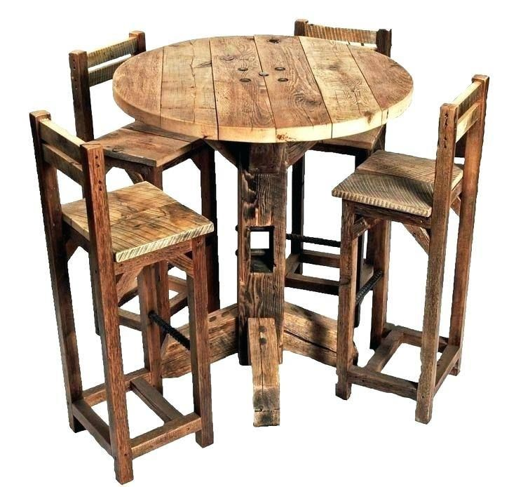 Patio Furniture Bistro Sets Tall Small Kitchen Tables Round Kitchen Table Rustic Kitchen Tables Rustic high top table and chairs