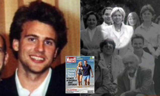 Emmanuel Macron is still trying to prove his parents wrong and show his wife Brigitte Trogneux-Macron, 64, that she was right to turn her life 'upside down' for him, his former professor told MailOnline