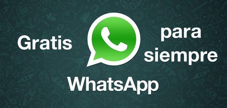 WhatsApp pasa a ser gratis de por vida para todos los usuarios - http://www.actualidadiphone.com/whatsapp-pasa-a-ser-gratis-de-por-vida-para-todos/