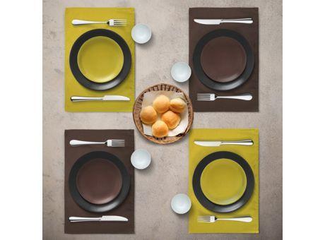 DARLA #Tischdeckenset  bestehend aus vier #Tischdecken.  100 % Bio-Baumwolle  Für den perfekt gedeckten #Tisch