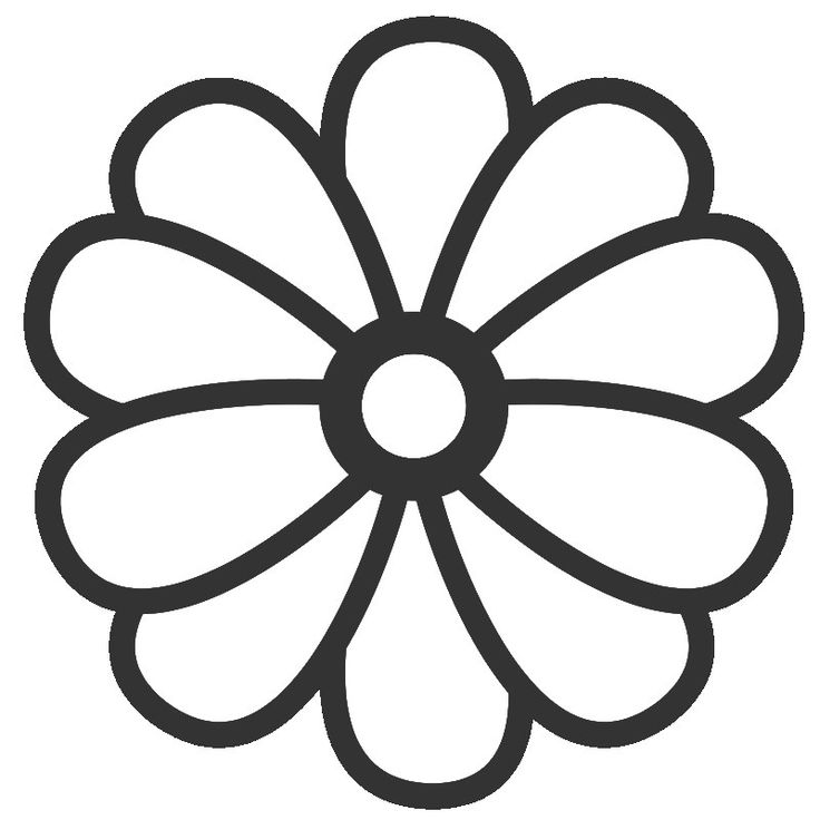 Cartoon Flower Coloring Page - KidsColoringSource.