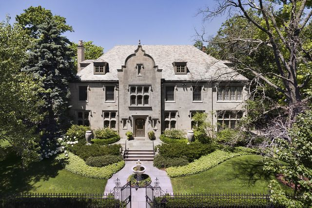 Stately English Manor home designed by noted architect, Whitney Stevens, with all the charm of the past and the amenities of today! 197 Oxford Rd , Kenilworth, IL 60043 $3950000
