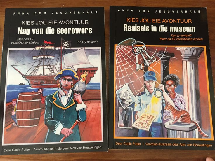 Kies jou eie avontuur leesboekies. Bestel by aanaemm.co.za