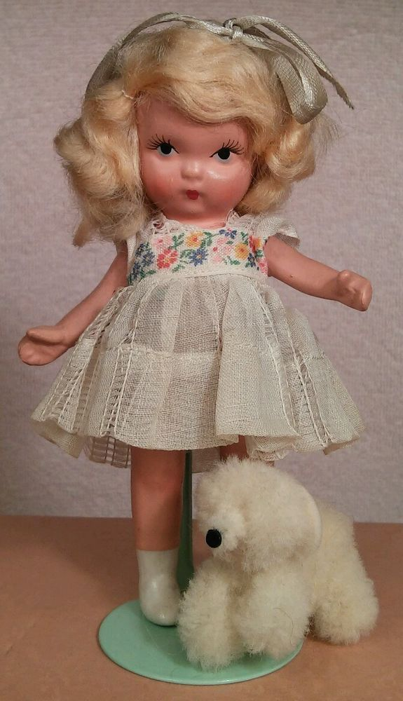 "Vintage NASB #128 ""Goldylocks & the Baby Bear"" - Mother Goose/Fairy Tales Series #NancyAnn #DollswithClothingAccessories"