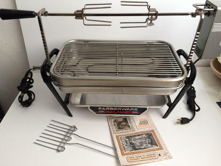 Farberware open hearth broiler rotisserie chicken prime