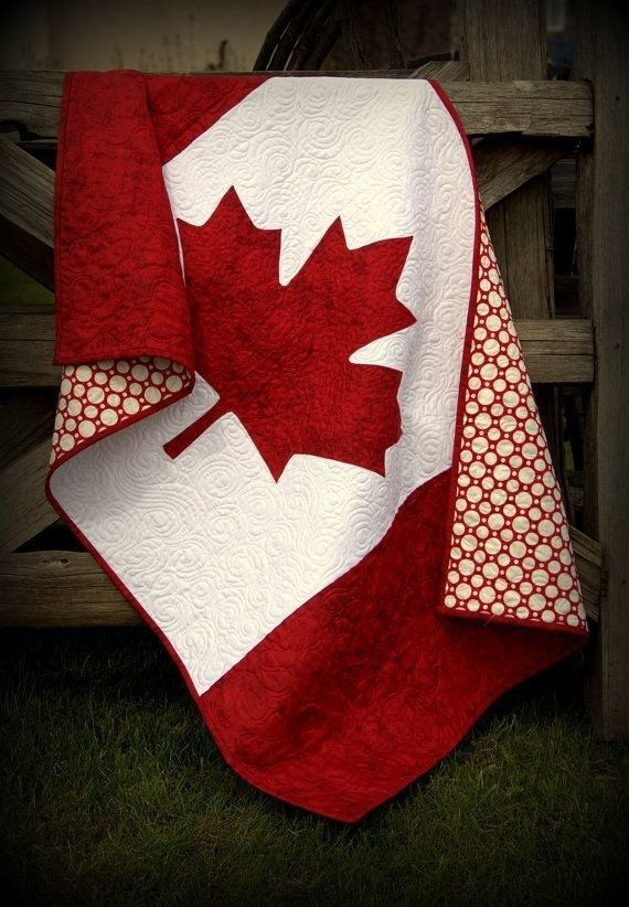 Canada Baby Quilt | Community Post: 23 Ways To Fill Your Home With Canada