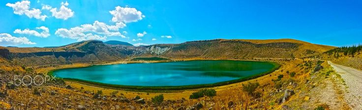 Narligöl Crater Lake Cappadocia Turkey - Narli Crater Lake | Cappadocia Turkey Photo: Suleyman Sonmez www.suleymansonmez.com Narlıgöl - Kapadokya - Krater Gölü https://en.wikipedia.org/wiki/Cappadocia