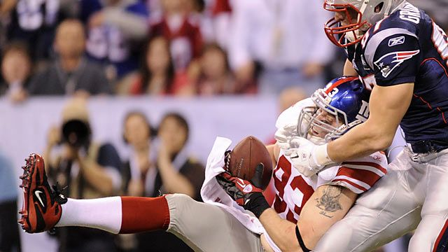 Chase Blackburn made arguably the biggest play of the Super Bowl for the Giants.