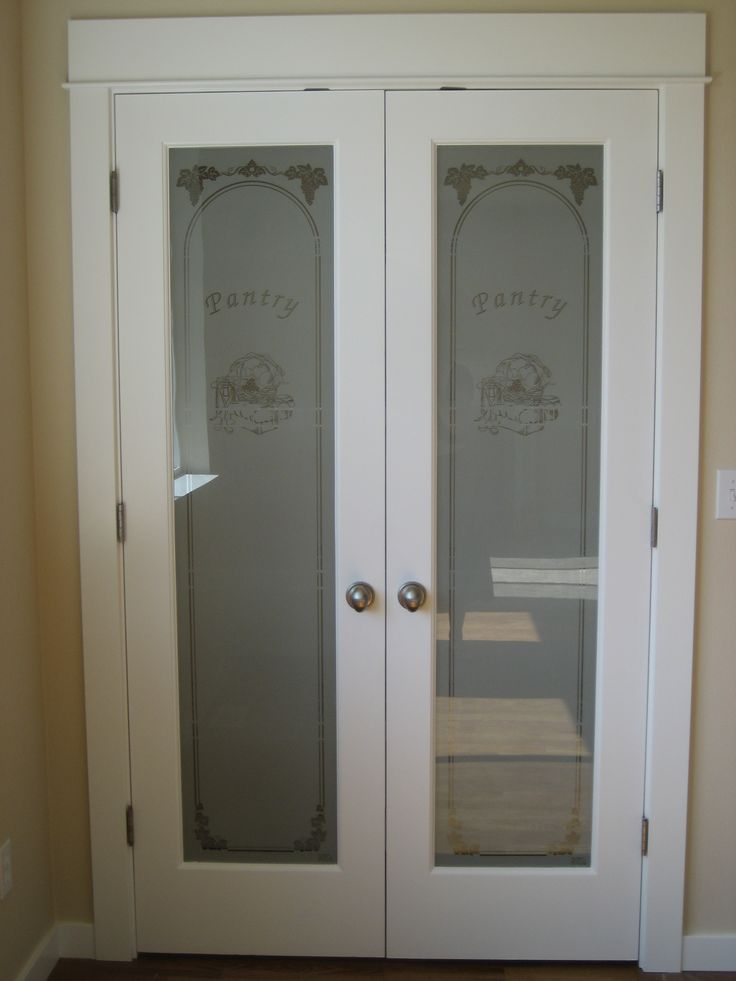 Glass Doors At The Pantry Kitchens By Belmark