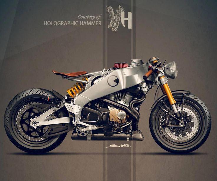 Buell Firebolt XB12R Concept by Holographic Hammer | Gear X Head