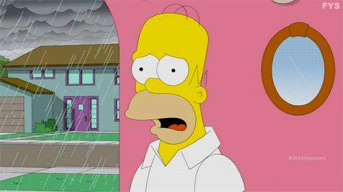 Esto significa que Springfield ni siquiera está en Estados Unidos, sino que acontece en el hemisferio sur, donde una luna en cuarto creciente apunta hacia la derecha. | Un astrónomo analizó la luna de Los Simpson para encontrar la ubicación real de Springfield