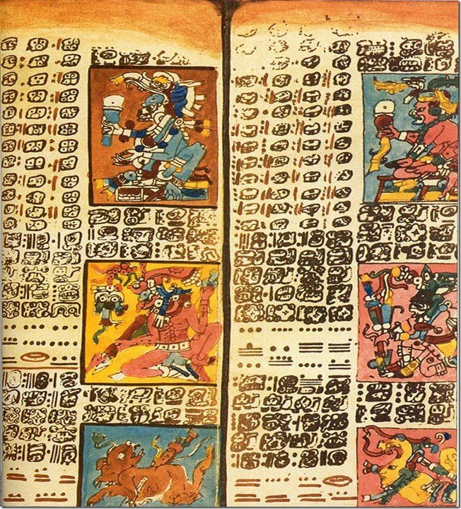 """Popol Vuh is a corpus of mytho-historical narratives of the Post Classic K'iche' kingdom in Guatemala's western highlands. The title translates more literally as """"Book of the People"""". Popol Vuh's prominent features are its creation myth, its diluvian suggestion, its epic tales of the hero twins Hunahpú and Xbalanqué, and its genealogies. The myth begins with the exploits of anthropomorphic ancestors and concludes with a regnal genealogy, perhaps as an assertion of rule by divine right."""