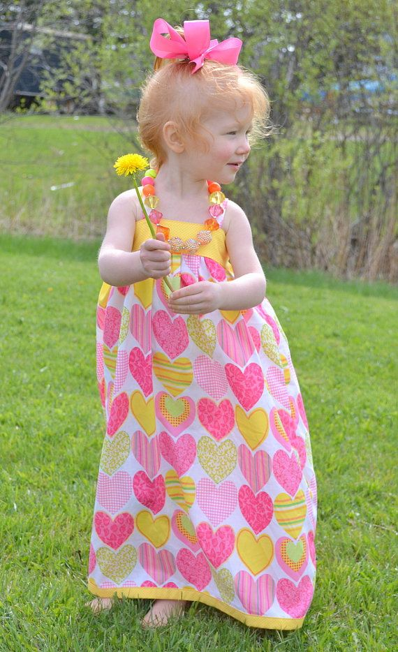 Hey, I found this really awesome Etsy listing at https://www.etsy.com/listing/233681242/toddler-maxi-dress-girls-pink-and-yellow