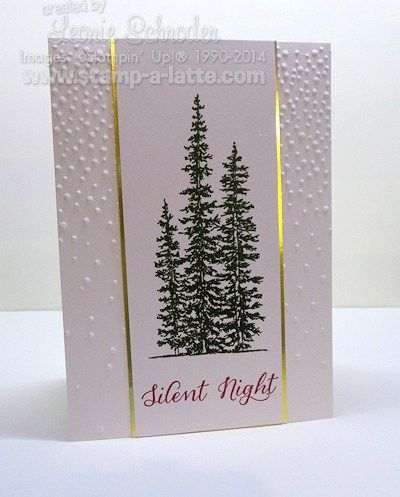 Wow! Monday already? those weekends sure do fly by – especially when you are having fun! Today's card is a card that is a case of one done recently by the lovely Lee Conreyand uses th…