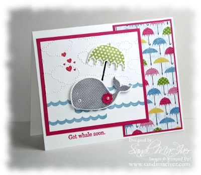 oh whale stamp set by stampin up card by sandi maciver www.stampingwithsandi.com