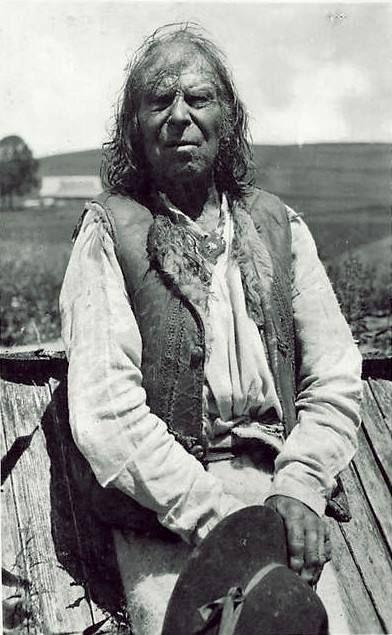 Starý goral. Fot. Karel Plicka. Rok 192?.