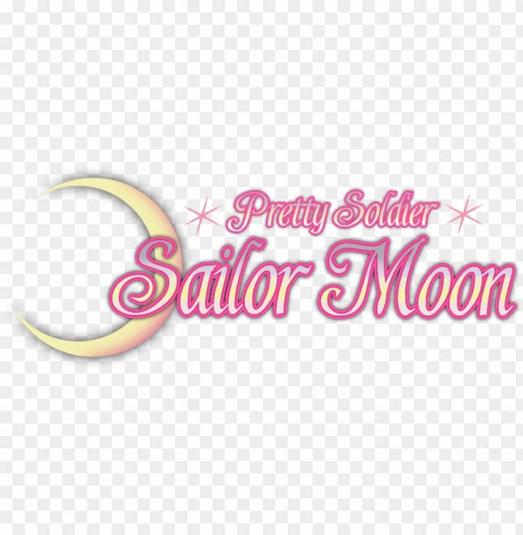very first anime you watched - sailor moon logo vector PNG ...