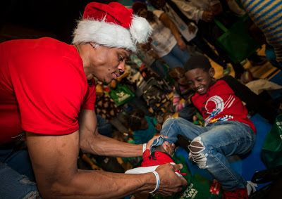 EffortlesslyFly.com - Kicks x Clothes x Photos x FLY SH*T!: Russell Westbrook Gave Sneakers to Kids in Need
