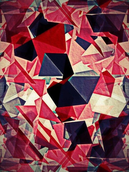 Geometric Cubism from $47.99   www.wallartprints.com.au #CubistArt #WallArtPrints
