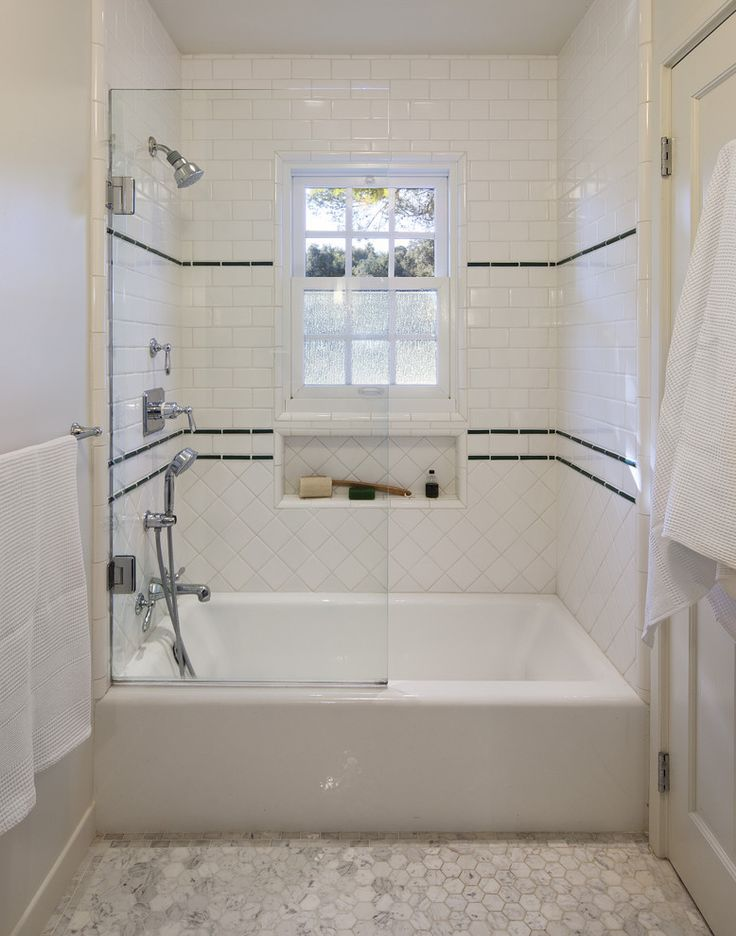 Clic 1930 S Tile Work For Shower Traditional Bathroom Santa Barbara Elizabeth Vallino