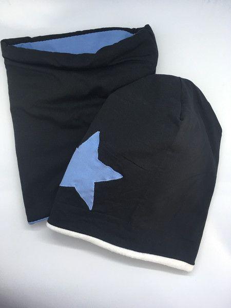 Mützen - Set Long Beanie (gefüttert)  und Loop Schal  - ein Designerstück von Sternlinge bei DaWanda
