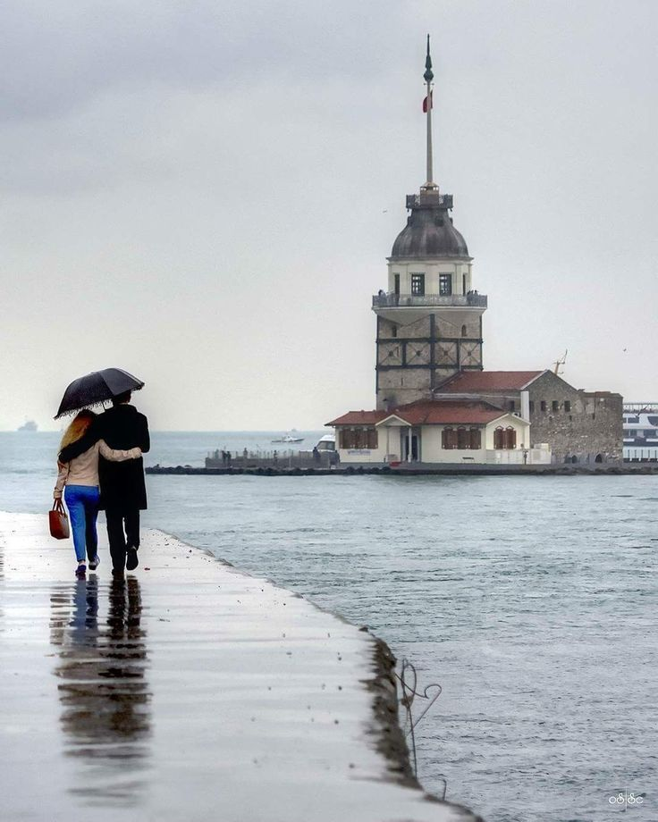 Rainy Day istanbul Put Your blue Heart In Comments